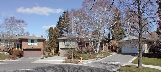 Houses in West Deane - Eringate Centennial Etobicoke Neighbourhood
